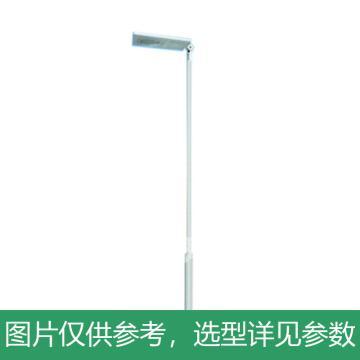 华朗 一体式太阳能LED庭院灯,20W,60AH,12V,中性光,HL-TYN023,高3.5M,含配件,单位:套