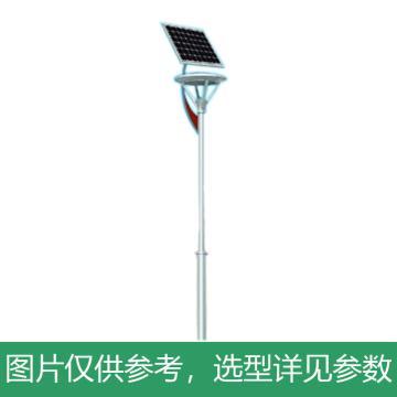 华朗 太阳能LED庭院灯,36W,60AH,12V,5400LM,中性光,HL-TYN026,高3.5M,含配件,单位:套