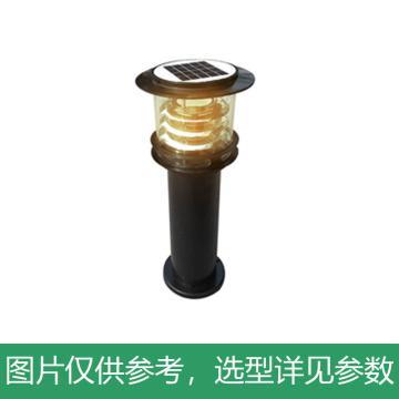 华朗 太阳能LED草坪灯,8W,60AH,3.2V,中性光,HL-TYN031,高0.6M,单位:套