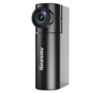 纽曼行车记录仪V9 迷你隐藏式行车记录仪高清1080P夜视广角无线带wifi