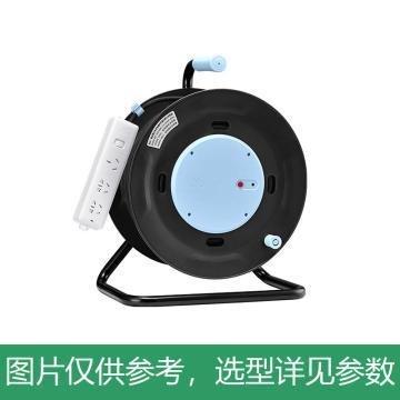 公牛BULL 线盘,工程系列, 过热保护 漏电保护(新国标),GN-806D 50米 2.5mm2