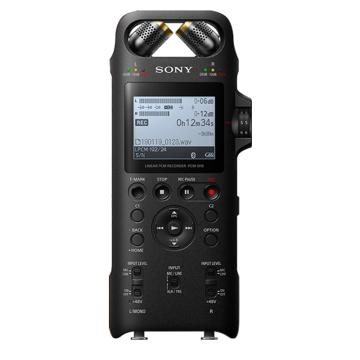 索尼录音笔,PCM-D10专业高清降噪数码录音棒新闻采访便携式录音机户外采风小型演奏唱会