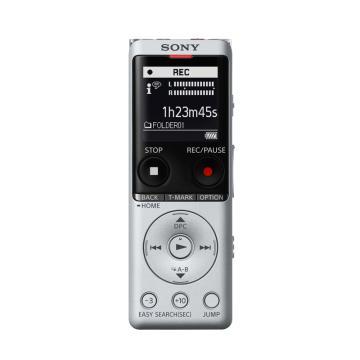 索尼录音笔, ICD-UX570F 银色专业高清降噪转文字超长待机大容量录音器机随身小型声控MP3播放器