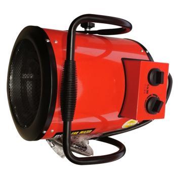 宝工 工业暖风机(手提式),BG-C5/3-13,380V,30W/2500W/5000W,可手调节出风方向。黑/红随机