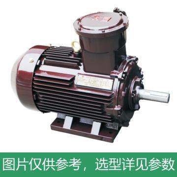 方力FANGLI 隔爆电机 高效率隔爆型三相异步电动机,YBX3-180M-4,18.5kW,B3