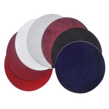 三灵抛光布,真丝金丝绒,220mm背胶,50片/小盒