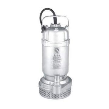 国标丝口铝壳清水泵,QDX15-7-0.55,220V,DN50,配7米电缆