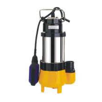V系列丝口小型污水泵,WQ5-5-0.18,220V,带浮球,DN40,电缆5.3米