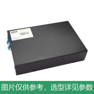 海乐Haile 4口光纤终端盒 4芯LC满配 光纤盒 光缆尾纤熔接盒 光纤配线架,P1-4-LC