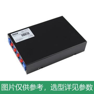 海乐Haile 4口光纤终端盒 4芯FC满配 光纤盒 光缆尾纤熔接盒 光纤配线架,P1-4-FC