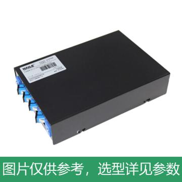 海乐Haile 4口光纤终端盒 4芯SC满配 光纤盒 光缆尾纤熔接盒 光纤配线架,P1-4-SC