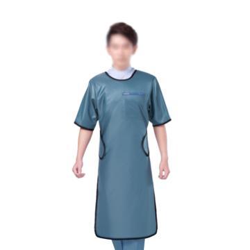 康仕盾 射线防护服,单面式短袖,0.50mmPb,绿色,KSDA007B-L