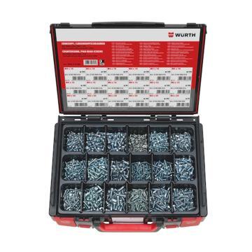 伍尔特WURTH,5964510400,盘头螺钉-SORT-ISO7045/7046-1(A2K)-1625PCS