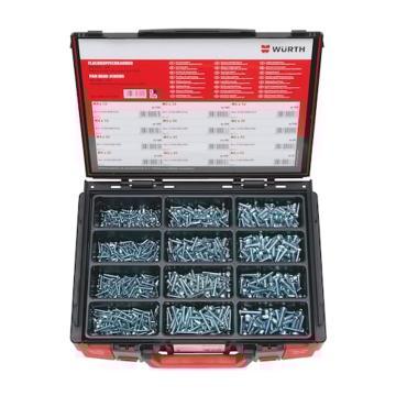 伍尔特WURTH,5964510300,盘头螺钉-SORT-ISO7045-(A2K)-1100PCS-SYSKO