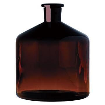 西域推荐 自动滴定管用瓶 茶色 2000ml 3-8500-12