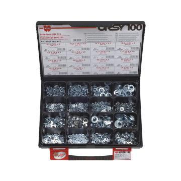 伍尔特WURTH,0964407442,垫片-SPG-SET-DIN125/127-(A2K)-1400PCS