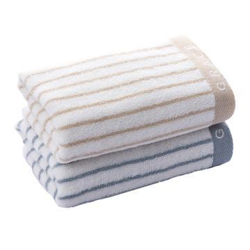 洁丽雅Grace纯棉强吸水舒适面巾毛巾,6450 72*34cm 90g