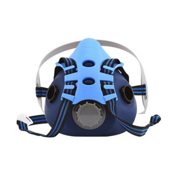 Raxwell 半面罩,RX8100-M,硅胶材质中号 可搭配双滤盒 双滤棉