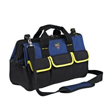 法斯特 电工帆布工具包,14寸蓝色三代,可定制字样,下单备注