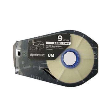 丽标 贴纸,TM-1109W 白色9mm长30m,适用丽标 线号机 单位:卷