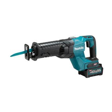 牧田充电式往复锯,管材1300mm/木材255mm,40V 4.0Ah两电一充,JR001GD201