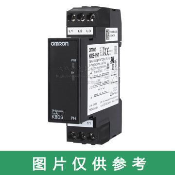 欧姆龙 相序保护继电器,K8DS-PH1