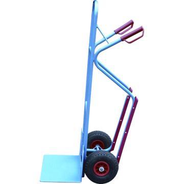 虎力 钢制双轮货仓车,载重(kg):300 货铲尺寸250*320mm 实心橡胶轮,HT1330