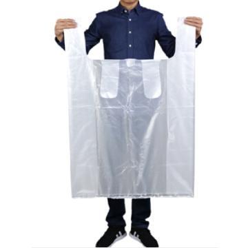 LAUTEE 手提式加厚白色大塑料袋,包