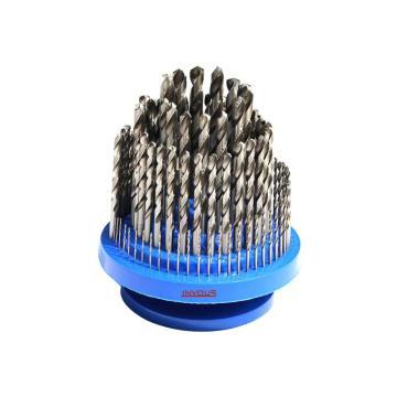 INVOUS 100件套高速钢全磨制钻头组套,1.0-13mm,IS781-82616
