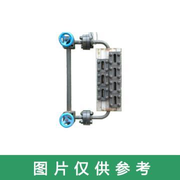 长春锅炉仪表 无盲区水位计,B69H-32/3-W L=670