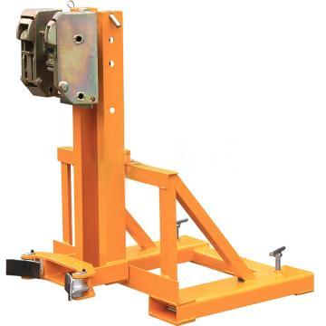 虎力 双叼扣式叉车专用油桶搬运夹,承重360kg适合油桶规格55加仑,DG360B
