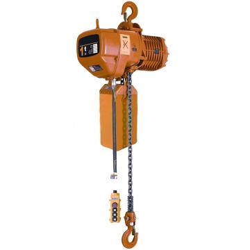 虎力 环链电动葫芦1T,单链 起升高度3米,EH10-01