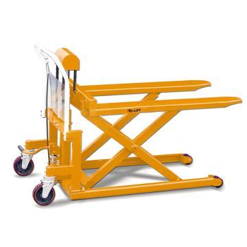 虎力 脚踏剪式升高液压搬运(平台)车,载重(T):0.5 货叉宽度526mm 长度1115mm,SL50S