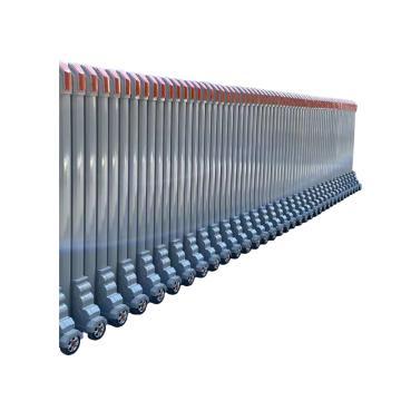 祖安科技 不锈钢伸缩护栏(不含机头),SF-033-1,1米