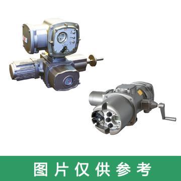重庆川仪 电动执行机构,M8340+G7010 量程900NM 精度±1% 转换法兰 380VAC/220VAC IP67