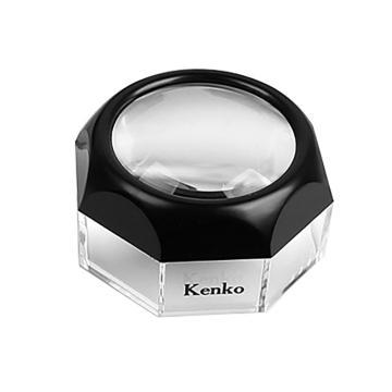日本肯高KENKO 镇纸式放大镜,倍率:4倍,镜面直径:48mm,尺寸:38X65mm,重量:64g,DK-50