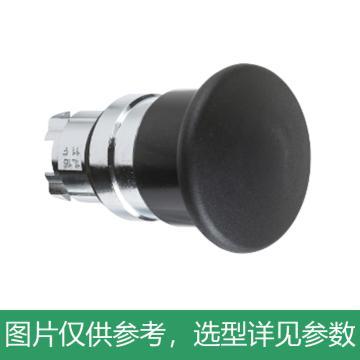 施耐德Schneider 金属按钮头,ZB4BC2 黑色 蘑菇头 40mm