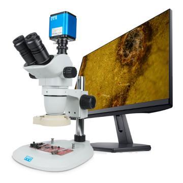 奥斯微 三目快速自动给对焦显微镜,AF516C