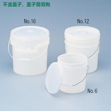 进口密封容器,No.6,6.1L,不含盖子