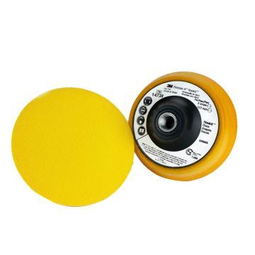 3M 砂碟托盘 14738, 5英寸 x 1英寸,5/8 11内螺纹,14738