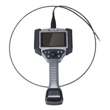 德朗DELLON 电动转向工业视频内窥镜,4.3寸屏幕8mm镜头2米长管子,VT-802YH