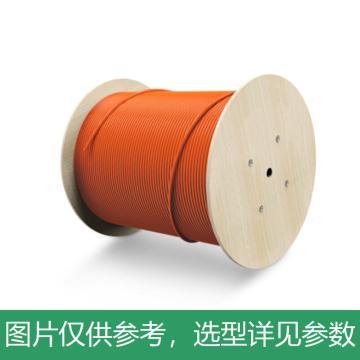 海乐(Haile)24芯千兆多模OM2室内光纤光缆 50/125 GJFJV-24A1a 束状软光缆 100米 HT-200-24MD