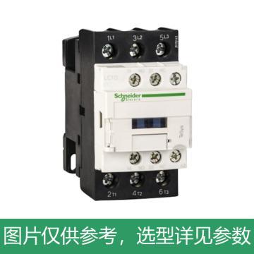 施耐德Schneider TeSys D系列三极接触器,9A,24VDC,LC1D09BD
