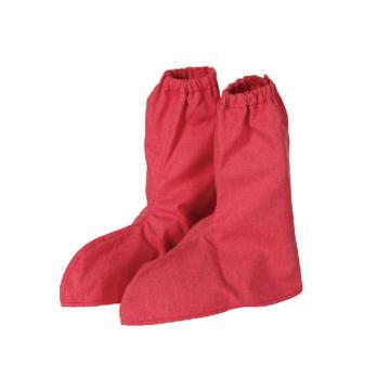 锦禾 电焊鞋套,砖红色,DD1701