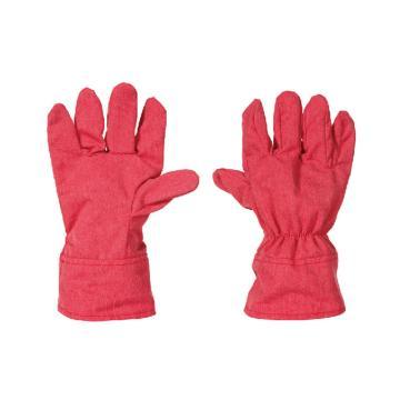 锦禾 电焊手套,砖红色,DS1701