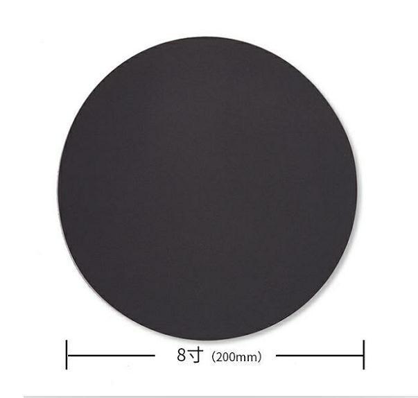 勇士 圆形耐水砂碟,无背胶无背绒圆形砂纸,P600 直径8寸 50张/包