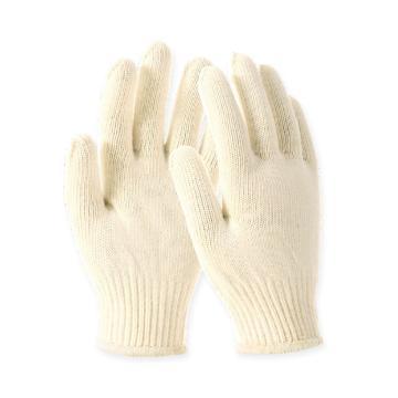 Raxwell 720g全棉手套,乳白,10针,12副/袋,RW2104