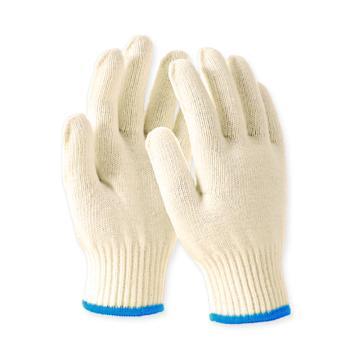 Raxwell 600g棉纱手套,本白,10针,12副/袋,RW2102