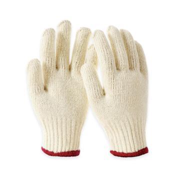 Raxwell 750g棉纱手套,本白,7针,12副/袋,RW2101
