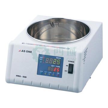 亚速旺 圆形水浴槽,室温+5~95℃,LED数码显示,HWA-50D AC100V,1-5844-12